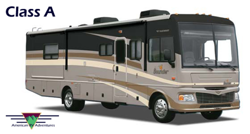 american rv adventures class a bus style details